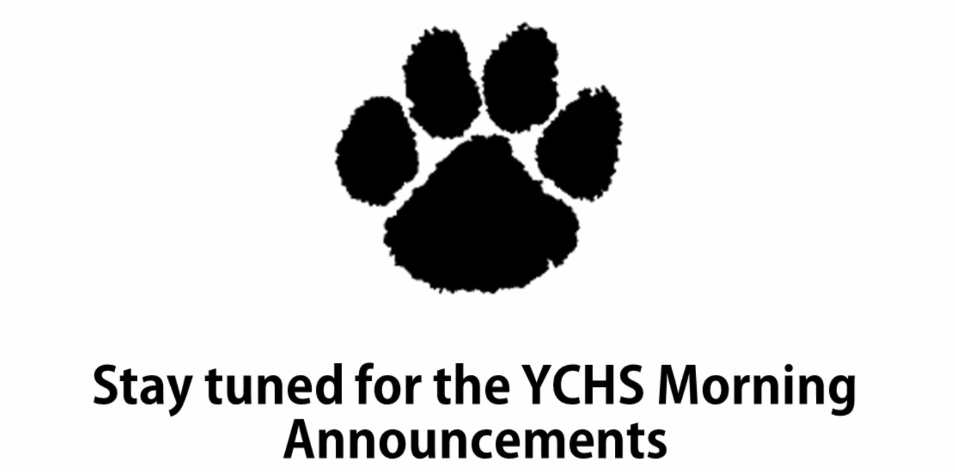 YCHS Prowl TV Daily Announcements