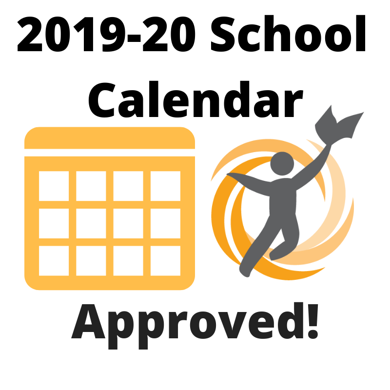 2019-20 School Calendar Approved!