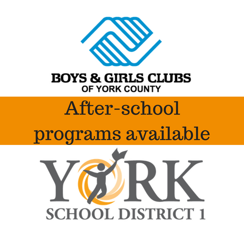 After-school programs available from York School District 1 and Boys & Girls Clubs of York County