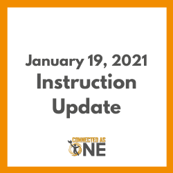 January 19, 2021 Instructional Model Update
