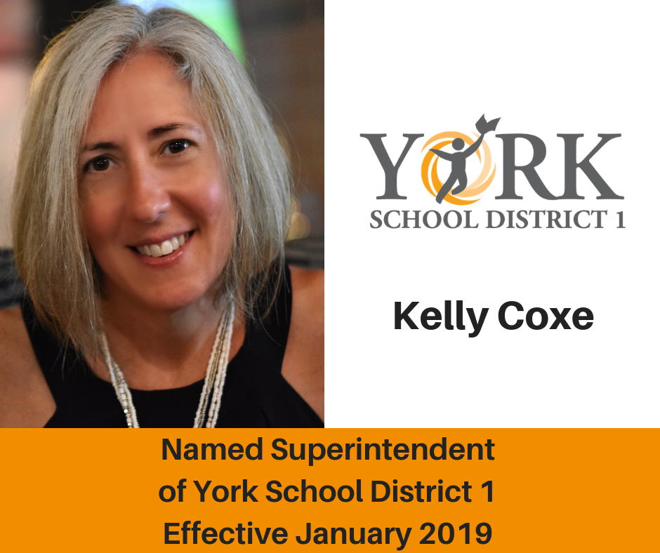 Kelly Coxe, Superintendent effective January 2019