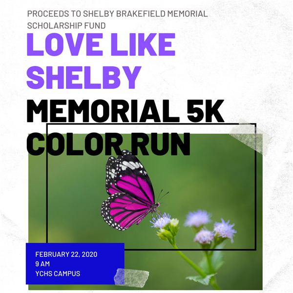 Love Like Shelby 5K Color Run