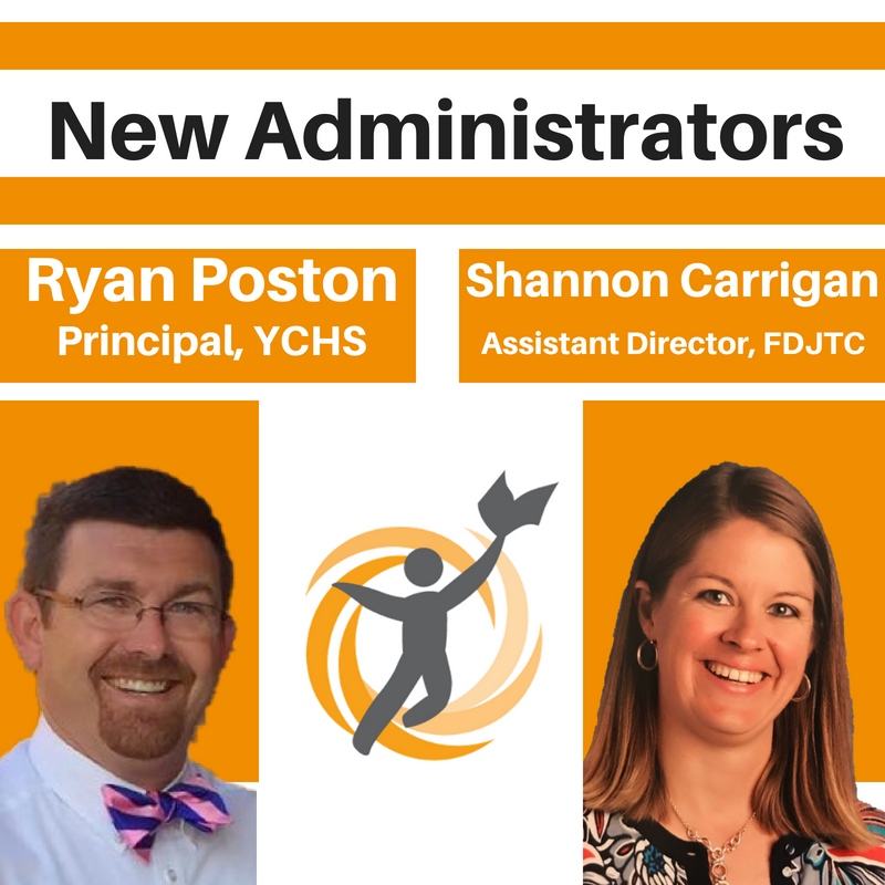 New Administrators Ryan Poston and Shannon Carrigan