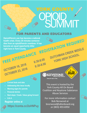 Opioid Summit Flyer