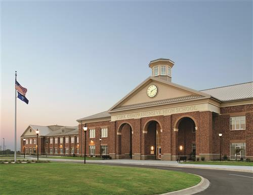Architectural Digest Names YCHS Most Beautiful High School in South Carolina