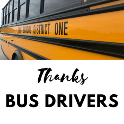 Thanks Bus Drivers