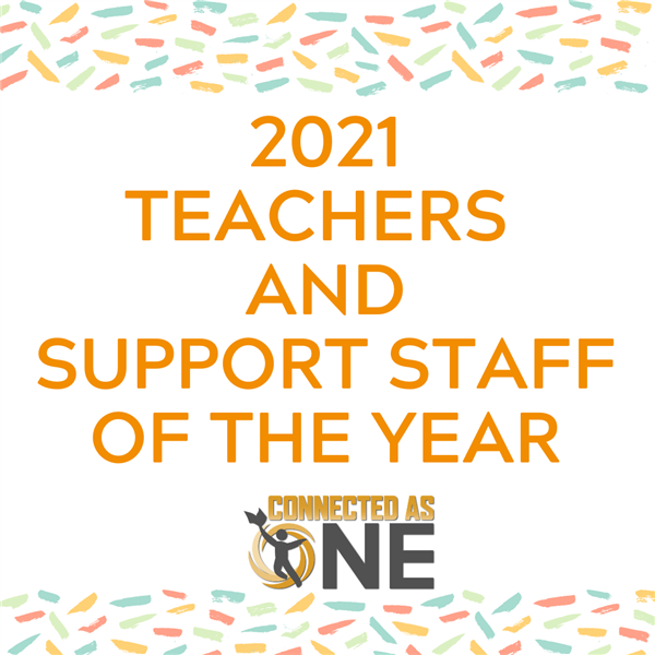 2021 Teachers and Support Staff of the Year
