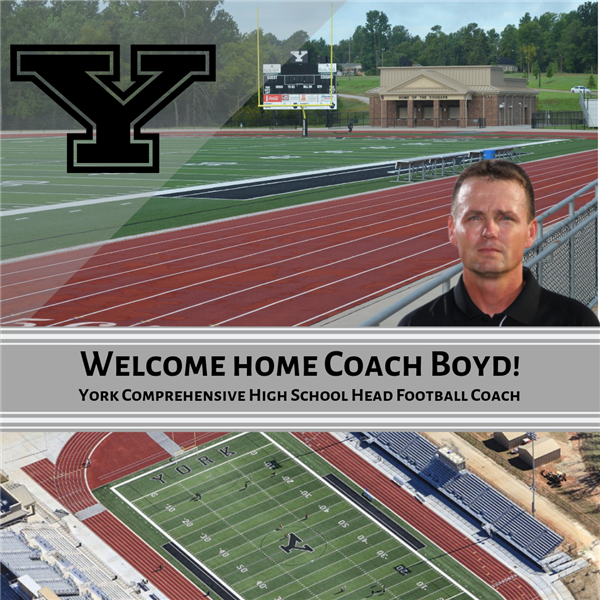 Welcome Home Coach Dean Boyd