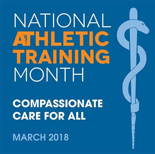 National Athletic Trainer Month