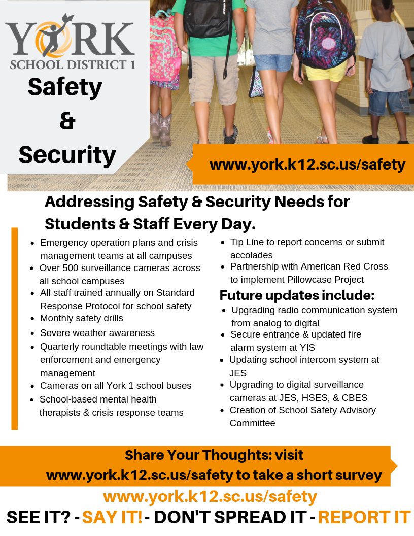Safety & Security Flyer